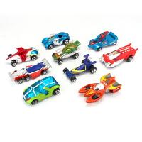 高车队奇幻套装合金汽车模型合金小汽车玩具男孩金属小车