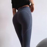 蜜桃提臀运动裤女弹力紧身显瘦瑜伽裤速干跑步高腰收腹健身裤