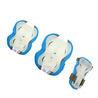 20180315082611604动感护具套装夜光 儿童轮滑护具套装320A 发光护膝护掌护肘6件