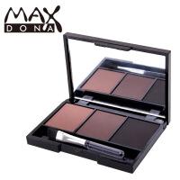 Maxdona 3色眉粉3组色可选 持久易上色彩妆 防水防汗不晕染