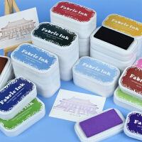 纸用水性印台复古大盒海绵手账印泥橡皮章色块印台高品质BD可布用
