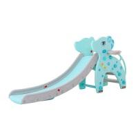 儿童室内滑滑梯家用宝宝游乐园音乐塑料上下梯玩具加长小型运动