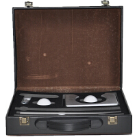 GASLION/格狮伦高尔夫推杆练习皮盒套装GGRF009室内高尔夫