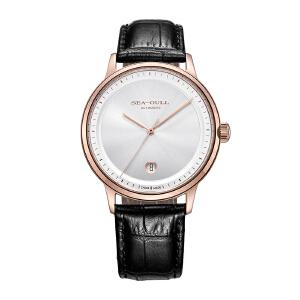 Seagull-海鸥手表时尚纯粹单历自动机械表男士皮男表手表臻品系列