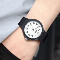 学生时尚手表简约男女中学生防水便携式黑色韩版气质潮流休闲复古个性
