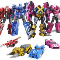 迷你特工队X玩具变形机器人金刚弗特x塞米儿童男孩机甲米米特攻队