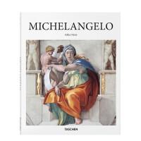 英文原版 Michelangelo 米开朗基罗 艺术作品集 意大利文艺复兴代 米开朗琪罗