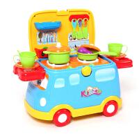 儿童过家家厨房玩具套装仿真厨具餐具男孩宝宝做饭女孩女童3-6岁4