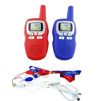 充电对讲机手持迷你对讲机亲子互动玩具掌机对话一对儿童玩具