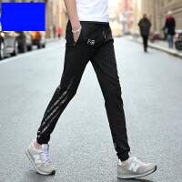 男裤子秋季新款潮休闲裤青年运动裤韩版男士长裤收口冬季卫裤