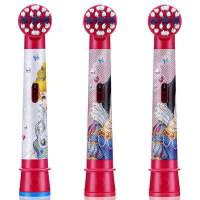 欧乐BEB10-3K儿童电动牙刷刷头三支装 白雪公主款