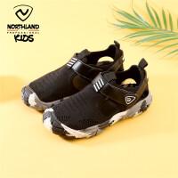 诺诗兰童鞋男童凉鞋2021新款夏季中大童软底防滑儿童包头沙滩鞋子
