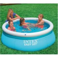美国INTEX28101别墅碟形水池充气圆形游泳池儿童戏水泳池