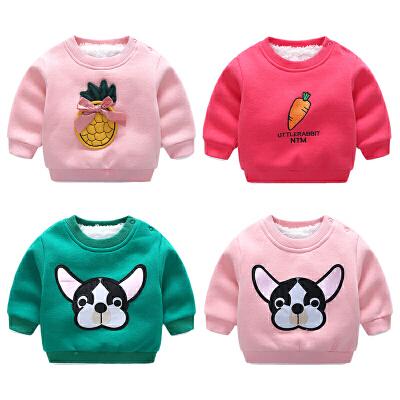 女婴儿卫衣外套装6个月男宝宝加厚保暖秋冬季衣服 发货周期:一般在付款后2-90天左右发货,具体发货时间请以与客服协商的时间为准