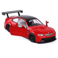 1:32宝马M3保时捷911赛道跑车声光回力小汽车模型玩具