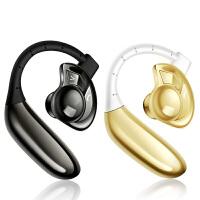 蓝牙耳机运动无线耳机耳塞式通用型开车入耳式重低音防水挂耳式超长待机【新型可更换电池】 标配