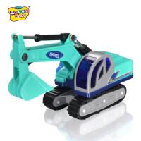 新菱小号工程车儿童模型玩具汽车履带挖掘机挖土车沙地玩具礼物 挖掘机