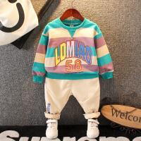 男童秋装套装宝宝休闲童装婴幼儿童运动卫衣两件套