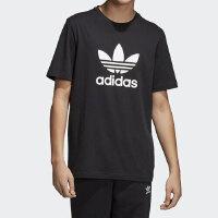 adidas Originals阿迪三叶草2018男子TREFOIL T-SHIRT圆领短T恤CW0709