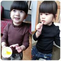 女童秋冬装打底衫儿童纯棉长袖T恤宝宝小童童装婴儿上衣男童
