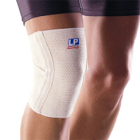 LP欧比护膝交叉式膝关节护套639 支撑型膝关节护套男女运动护具 单只