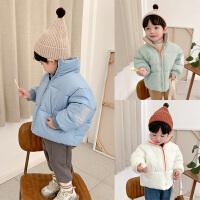 童装儿童冬装面包服加绒保暖宝宝棉衣