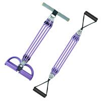 脚蹬仰卧起坐拉力器 扩胸器弹力绳健身器材家用减肚子拉力绳 用脚蹬拉力器