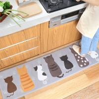 厨房地垫脚垫卫生间门口卫浴吸水门垫子家用浴室防滑垫