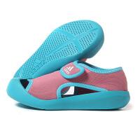 adidas阿迪达斯童2018夏季新款运动鞋男女小童魔术贴休闲凉鞋BY2237