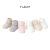 春夏季婴儿袜子纯棉新生儿袜子松口棉袜宝宝中筒袜小孩袜