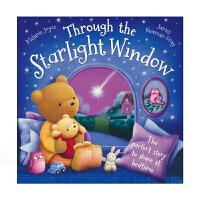 Through the Starlight Window 透过星空的窗户 儿童英语绘本哄睡故事 英文原版进口图书