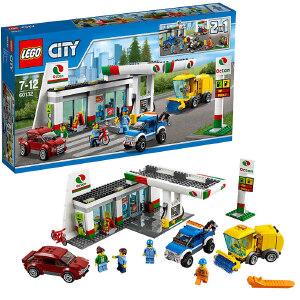 [当当自营]LEGO 乐高 City城市系列 加油站 积木拼插儿童益智玩具60132