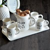 欧式骨瓷咖啡杯套装创意陶瓷杯 欧式下午茶茶具结婚礼物