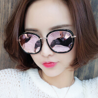2018韩国网红新款墨镜女士潮个性圆脸偏光太阳镜近视眼镜明星同款
