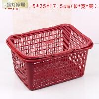 T水果篮手提带盖杨梅篮枇杷草莓篮葡萄采摘篮鸡蛋篮 1