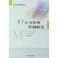母子公司管理控制研究 陈志军 经济科学出版社