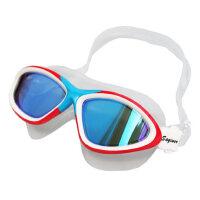 泳镜大框男女游泳眼镜多彩镀膜防水硅胶泳镜防雾高清 支持礼品卡支付