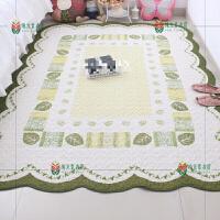 居家布艺纯棉加厚卧室客厅地垫地毯宝宝爬行垫沙发整体垫