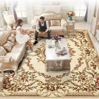 欧式地毯客厅沙发茶几垫家用卧室满铺房间长方形床边简约现代美式 3×4米 420纬加捻12毫米