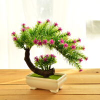 仿真花套装家居装饰品摆件绿色植物盆景假花盆栽摆设客厅餐桌酒柜摆件