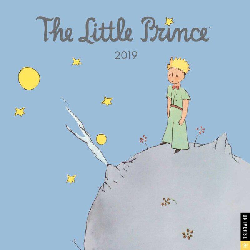 英文原版 小王子2019年挂历 新年日历 The Little Prince 2019 Wall Calendar by Antoine de Saint-Exupery Estate