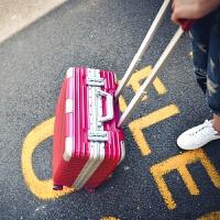 行李箱铝镁合金拉杆箱万向轮18寸商务电脑箱包17寸皮箱硬箱登机箱空姐箱 18寸【标准登机箱】