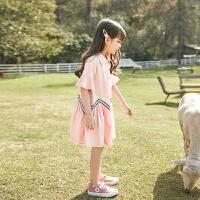 女童连衣裙夏装大童儿童装夏季小女孩公主裙子