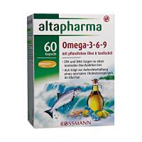 【网易考拉】Altapharma omega-3-6-9深海鱼油胶囊 鱼种来自欧洲优质水源 心脑养护 维生素E+DHA