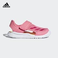【5折价:184.5元】阿迪达斯(adidas)新款小童凉鞋 休闲运动鞋 AC8297牛奶粉/鲜红
