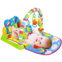 维莱 0-1岁婴儿健身架脚踏钢琴新生儿音乐游戏毯宝宝玩具3-6-12个月 3003