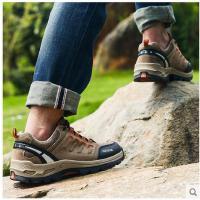 户外鞋登山鞋防滑低帮防泼水男士徒步鞋女款圆头系带情侣休闲鞋子可礼品卡支付