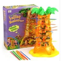 翻斗猴子爬�渫婢咄�下掉�H子玩具�和�桌面游�蛞嬷腔��