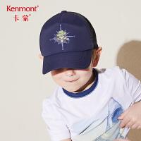 卡蒙3-6岁宝宝帽子儿童鸭舌帽小童男夏透气棒球帽韩版百搭太阳帽4795