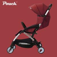 Pouch婴儿推车可坐可躺轻便携折叠儿童手推车上飞机宝宝伞车夏